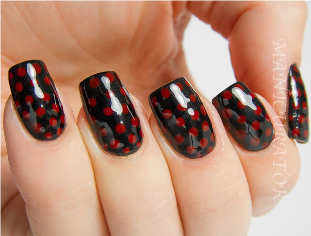 Zoya Nail Polish Blog: The Manicurator Dotted French Nail Art for Marc