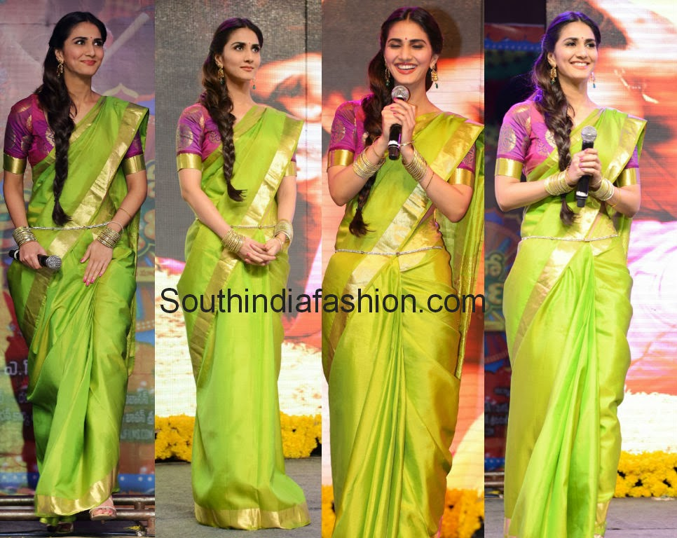 vaani kapoor traditional saree