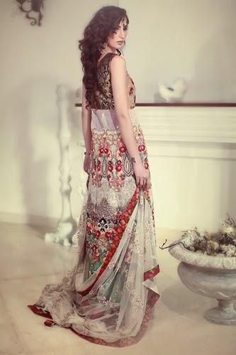 Tena Durrani Bridal Wear 2014