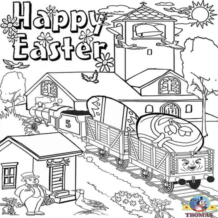 Easter Coloring Pages and Activities Lets Celebrate