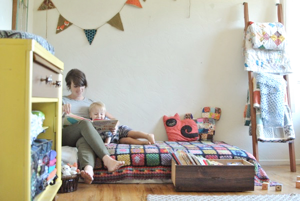 Quiet Like Horses: Home Tour: One-Bedroom Apartment for a Family ...