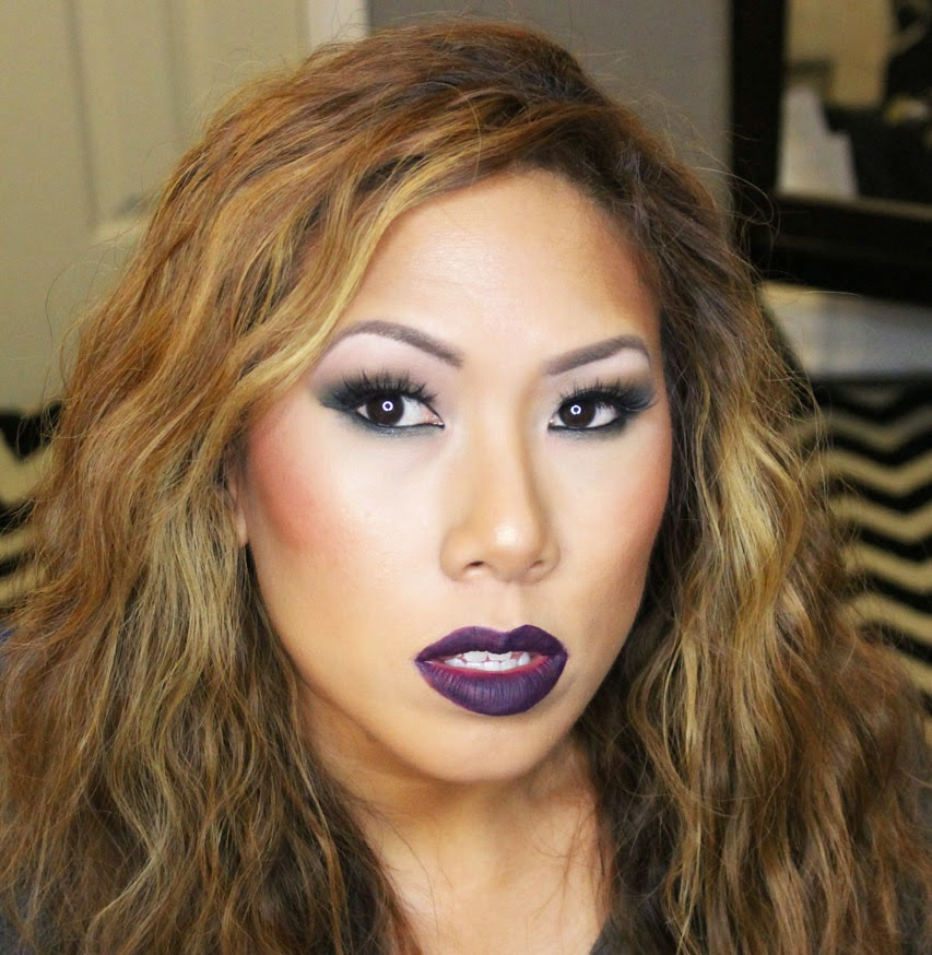 On my eyes Iu0026#39;m wearing new matte shadows from Limelight Alconeu0026#39;s ...