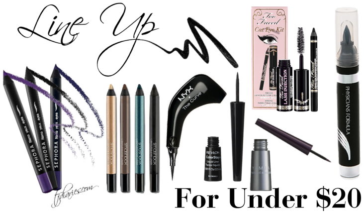 best eye liners on a budget