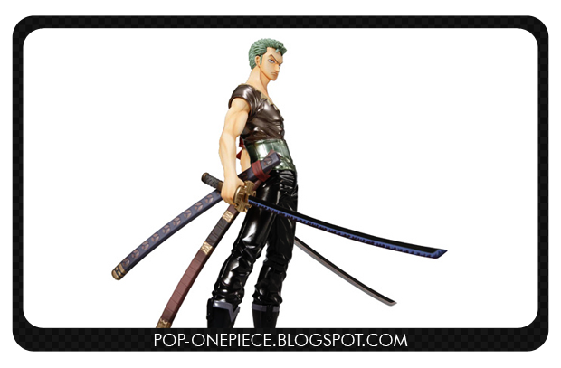 Roronoa Zoro LAWSON Limited Color - P.O.P Strong Edition