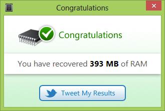 Memory Optimizer Untuk Windows 8