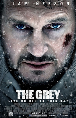 Watch The Grey 2012 BRRip Hollywood Movie Online | The Grey 2012 Hollywood Movie Poster