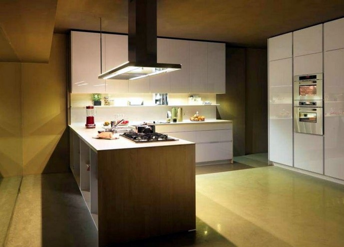 Furniture Interior Design: Orange Snaidero Kitchen