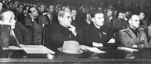 Il Comandante Fulvio Balisti, il Generale Renato Ricci  e Ruggero Romano al Congresso di Verona