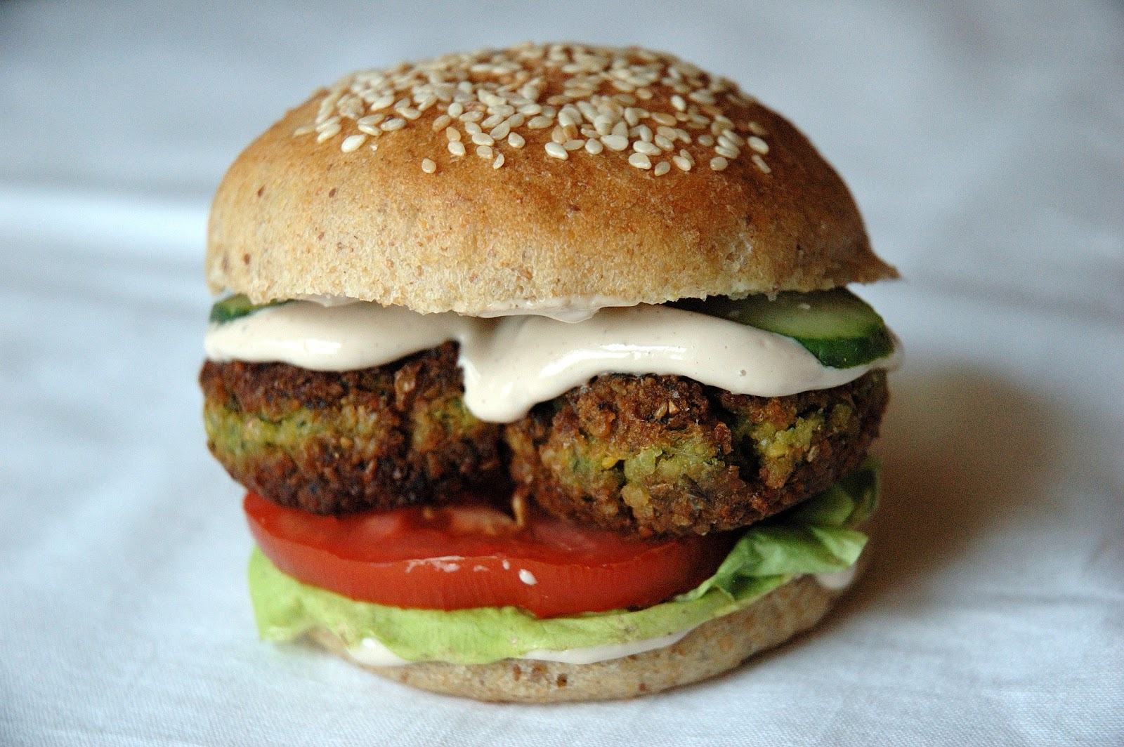 Falafel Burgers Recipes — Dishmaps