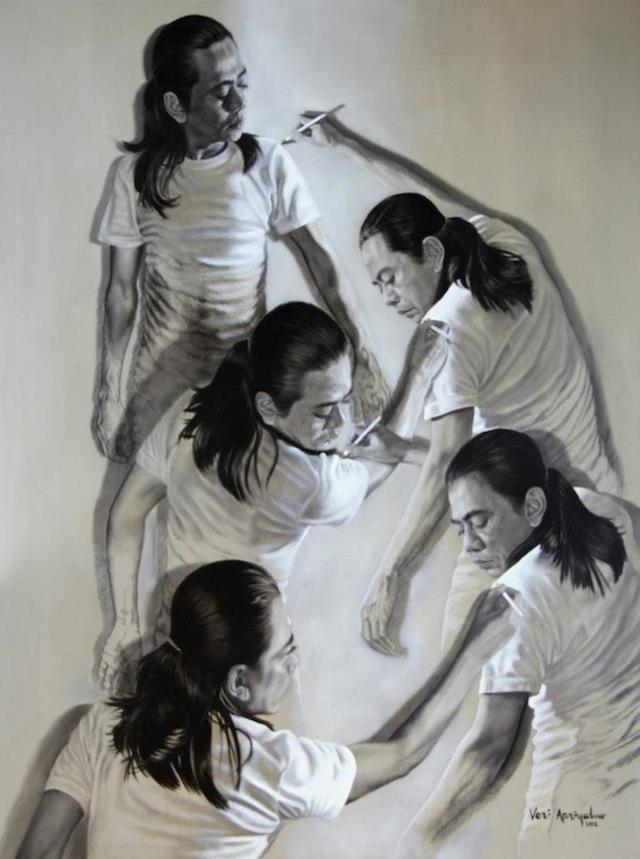 Doctor Ojiplático. Veri Apriyatno. Pintura | Painting