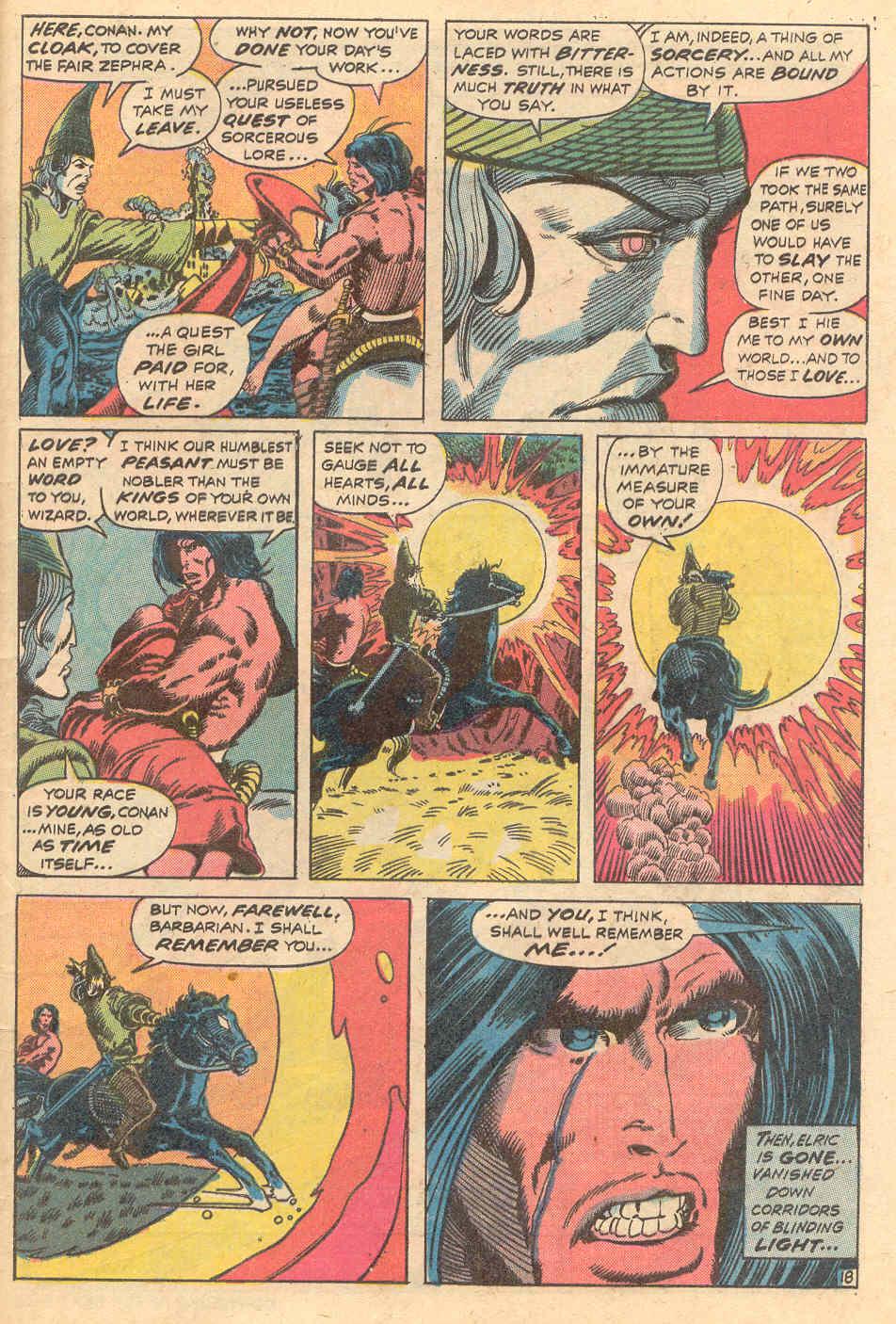 Conan the Barbarian (1970) Issue #15 #27 - English 19