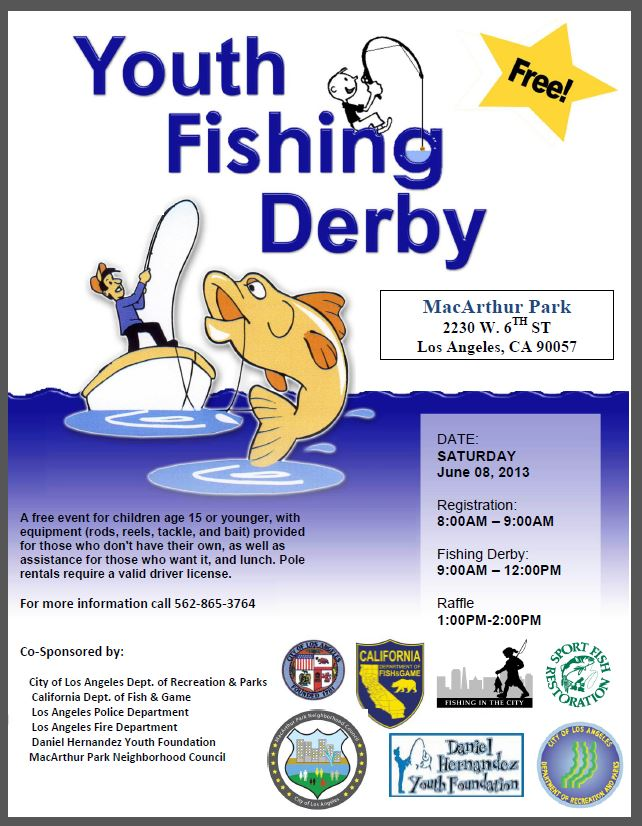 Fishing Derby Template