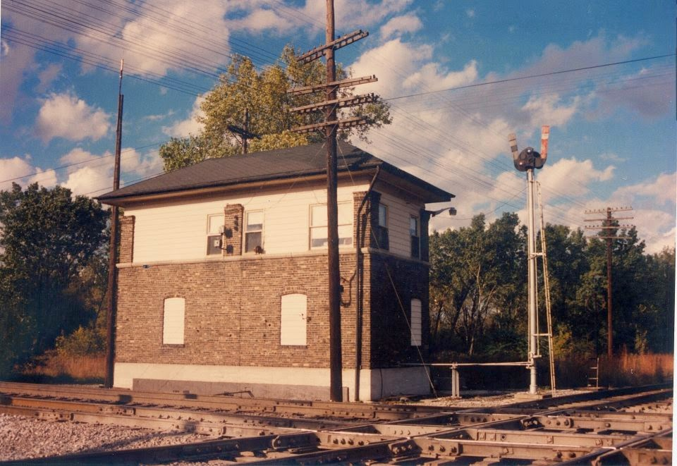 Oak Ridge Water Tower Demolition : Eddie s rail fan page chicago ridge junction and tower