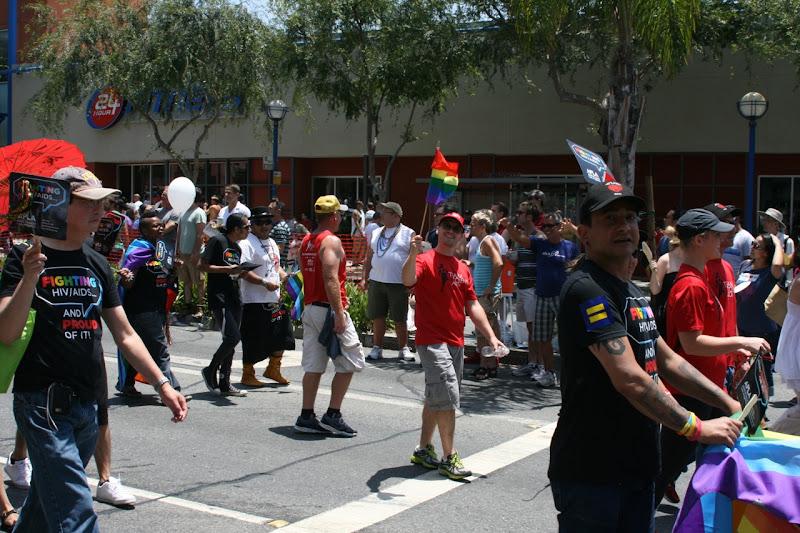 Team to End AIDS LA Pride 2012