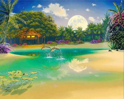 hawai-pintura oleo