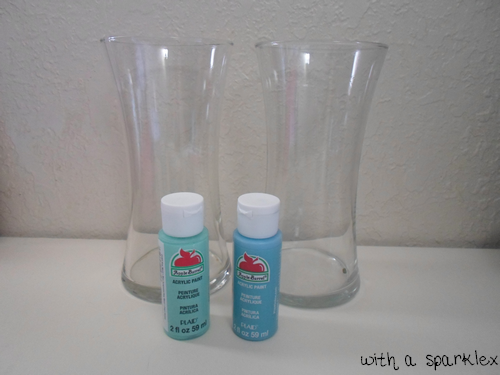 With a sparkle paint glass using acrylic paint for Can i paint glass with acrylic paint