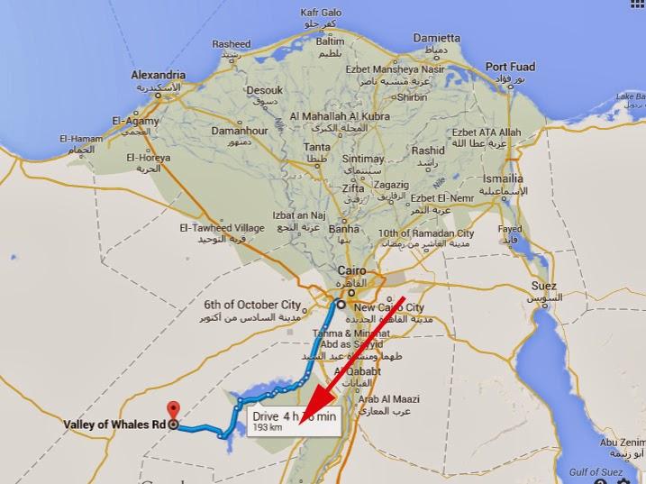 Toms Travel Blog Return To Fayoum Part - Map of fayoum egypt