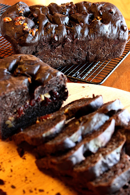 Chocolate Cherry Yeast Bread