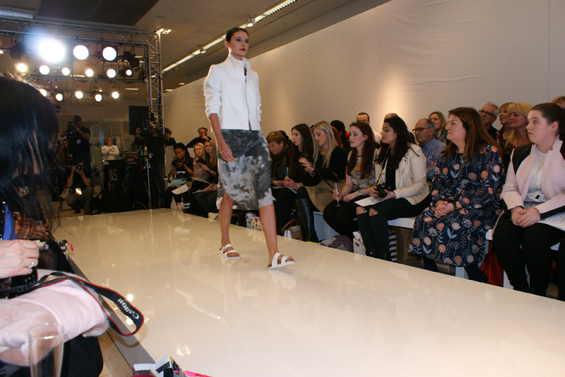 Marks and Spencer SS15 Fashion Show Manchester look 1