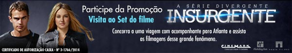 Participar promoção Cinemar Set de Filmagens Insurgente