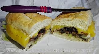 La Ruta de la Milanesa sandwich Paris
