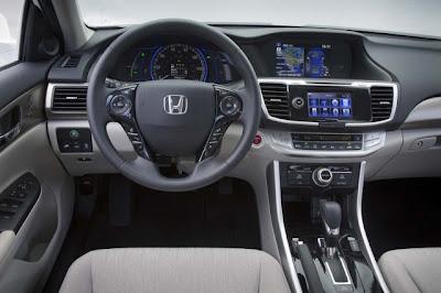 2014 Honda Accord Plug-In Hybrid Interior