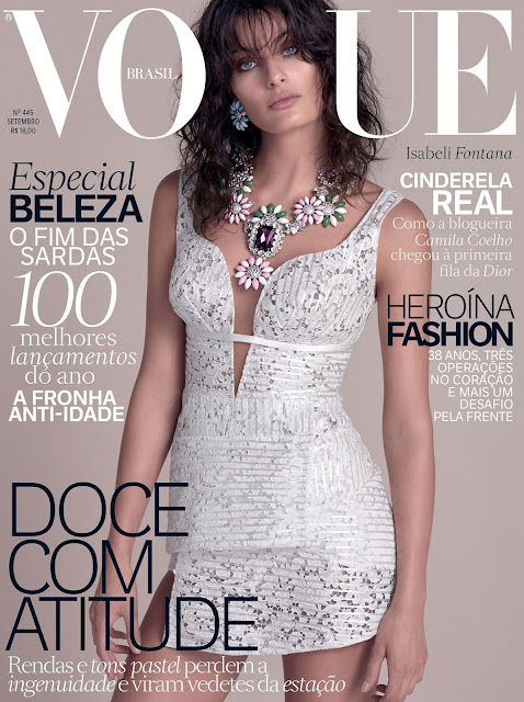 Fashion Model @ Isabeli Fontana by Zee Nunes for Vogue Brazil, September 2015
