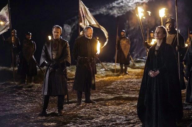 """Stannis y Davos en el cap. """"El León y la Rosa"""" (Juego de Tronos 4x02)"""