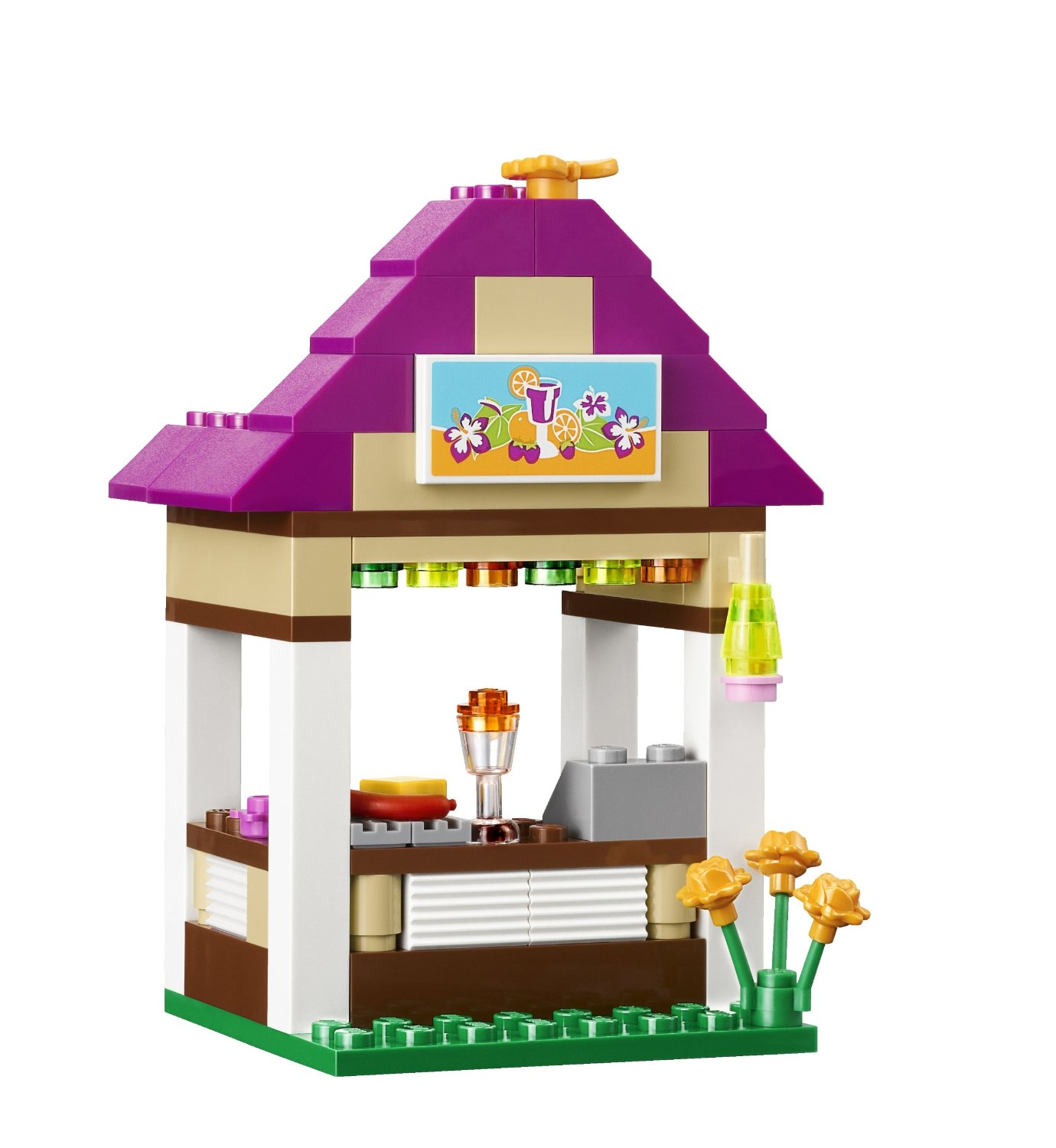 My lego style lego friends heartlake city pool 41008 for Piscina lego friends