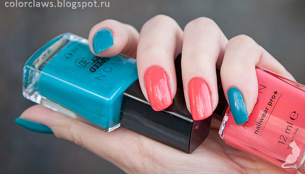 Avon Coral Reef + Fast Time Teal