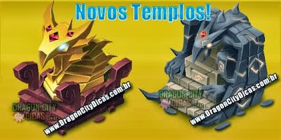 Novos Templos - Dragon City