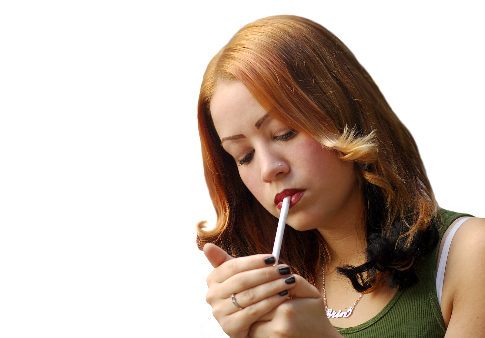 Most smokers started smoking when they were teenagers