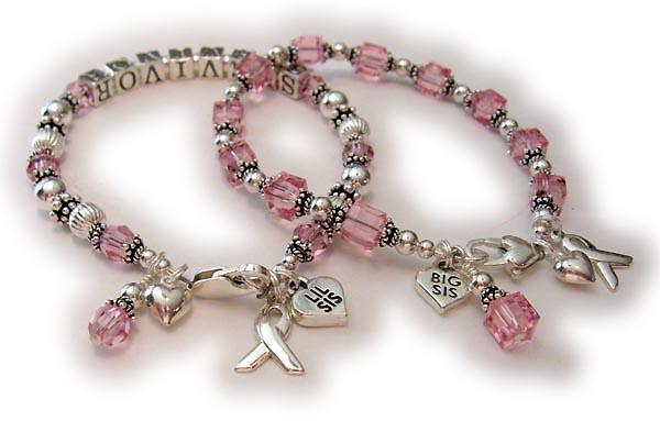 Breast cancer survivor bracelets for sisters here are bracelets for