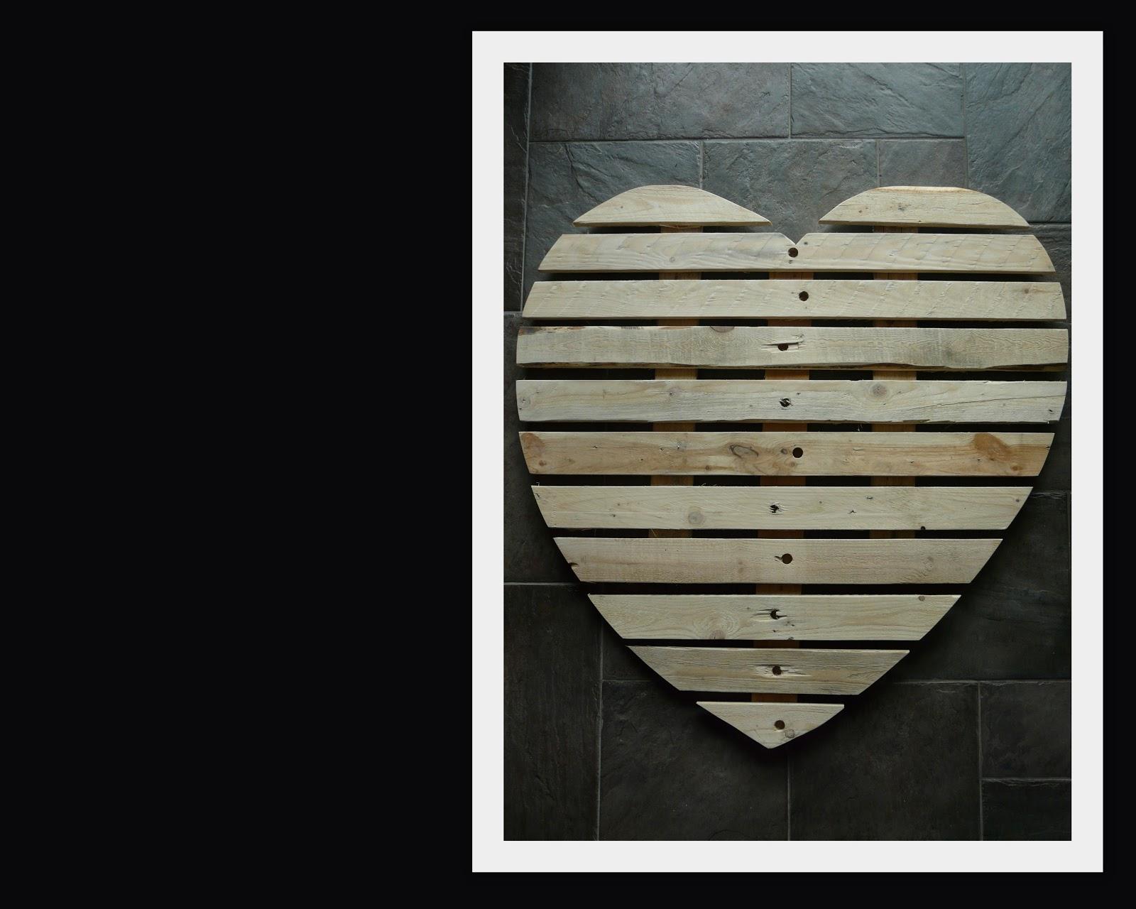 Mamaesther: houten hart