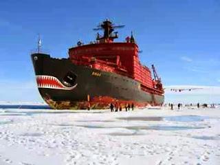 Inilah Kapal Pemecah Es Kutub Utara Bertega Nuklir