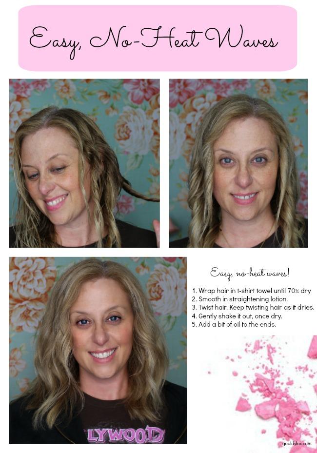Gouldylox.com, air dry hair, hair styles, Aveda, R&Co