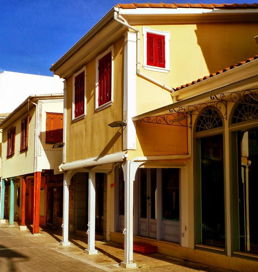 Traditionelles Haus in der Inselhauptstadt von Lefkada