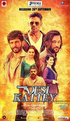 Desi Kattey (2014) Movie Poster No. 2