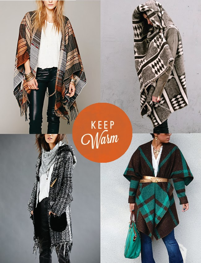 Trending: Blanket Sweater Coats