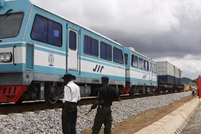 Abuja rail completed