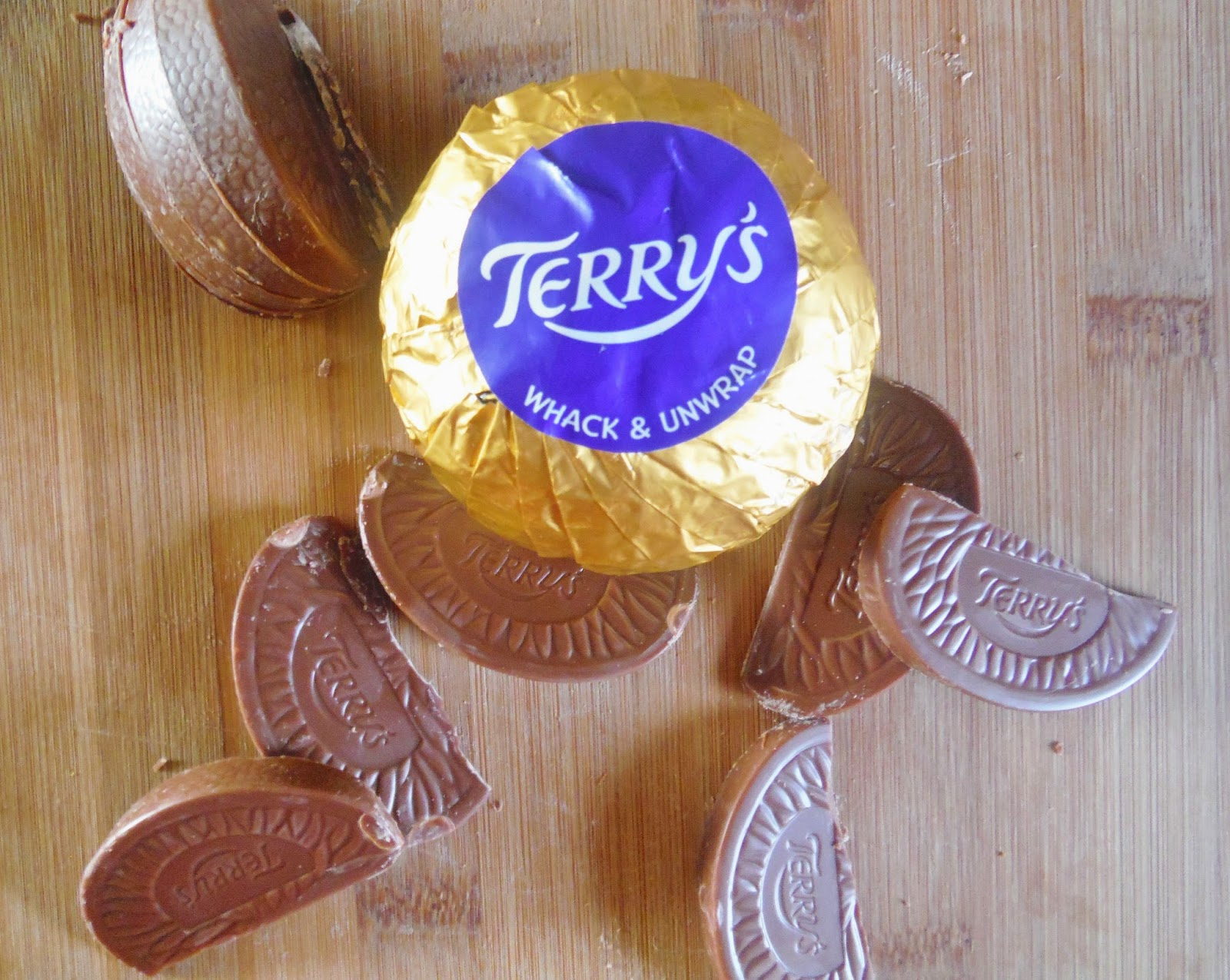Terry's Chocolate Orange brownies
