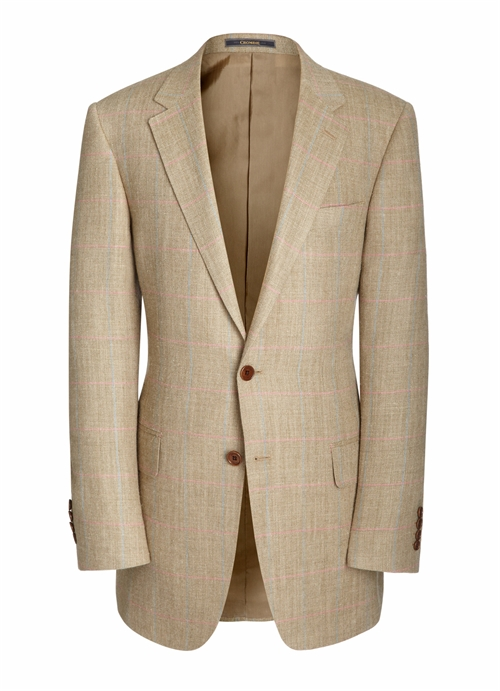 Crombie linen blazer