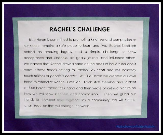 photo of: Rachel's Challenge at Blue Heron Elementary, Littleton CO