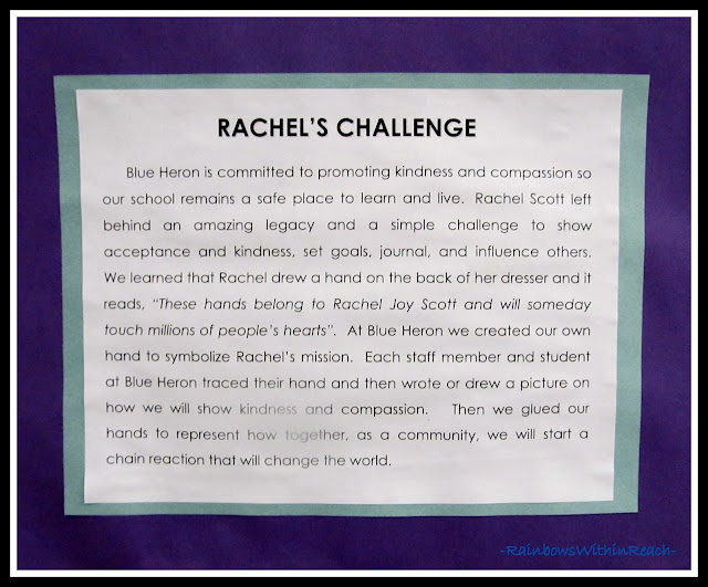 photo of: Rachel's Challenge at Blue Heron Elementary, Littleton CO
