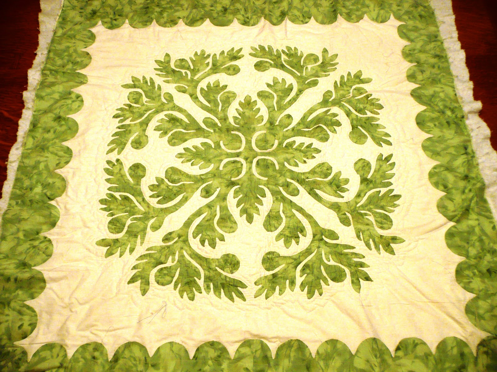 Loose Ends: Hawaiian Quilt Quest