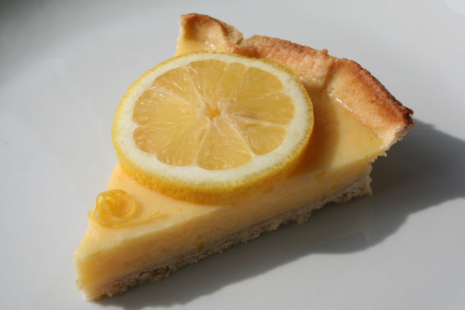 Tarte au citron fais p ter la recette - Recette tarte au citron simple ...