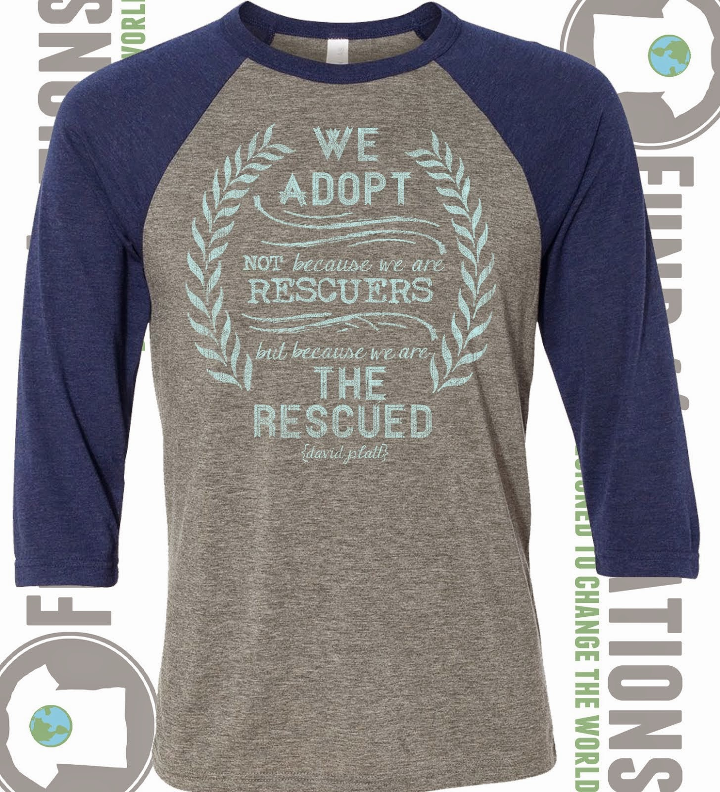 """The Rescued"" Raglan"