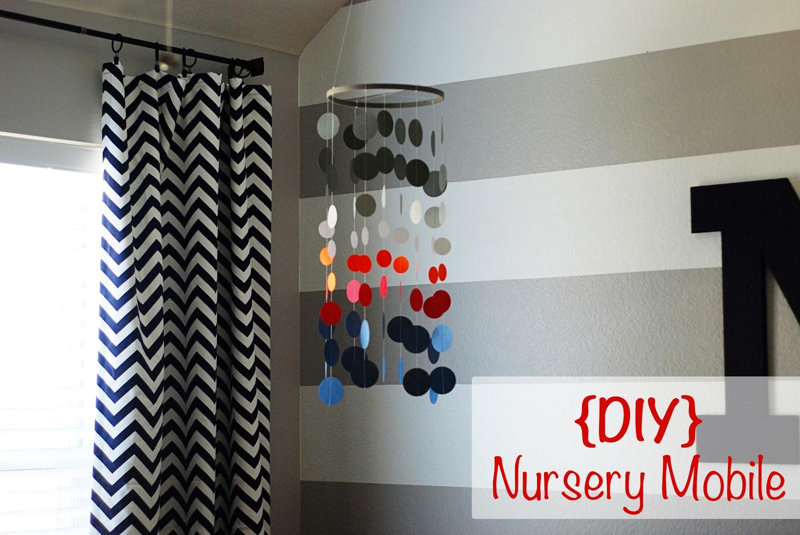better than i could have imagined diy nursery mobile. Black Bedroom Furniture Sets. Home Design Ideas