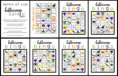 What the Teacher Wants!: Halloween Bingo!