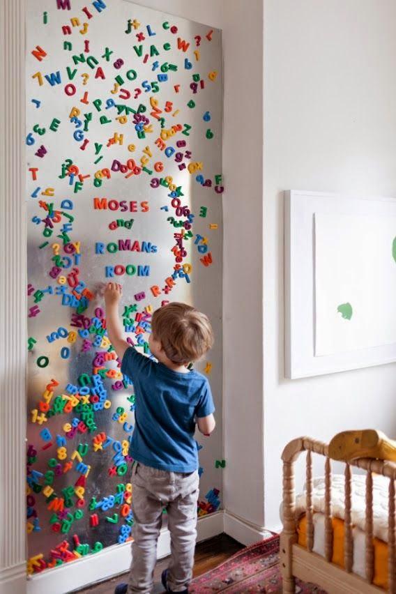 Ondeugende Spruit Muur Kinderkamer Inspiratie